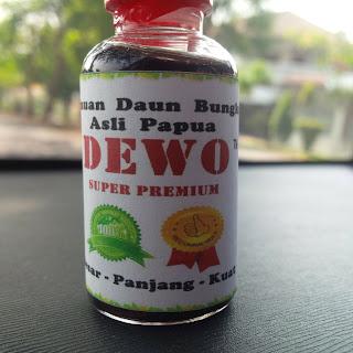daun bungkus booster Oil DEWO
