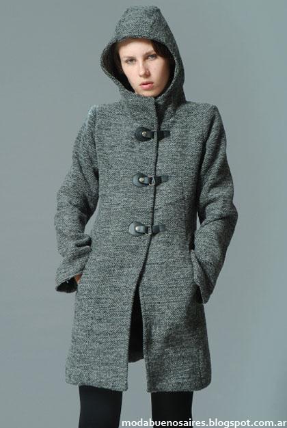 Tapados, sacos y abrigos invierno 2013 Victoria Jess
