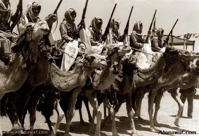 تقاليد الغزو البدو