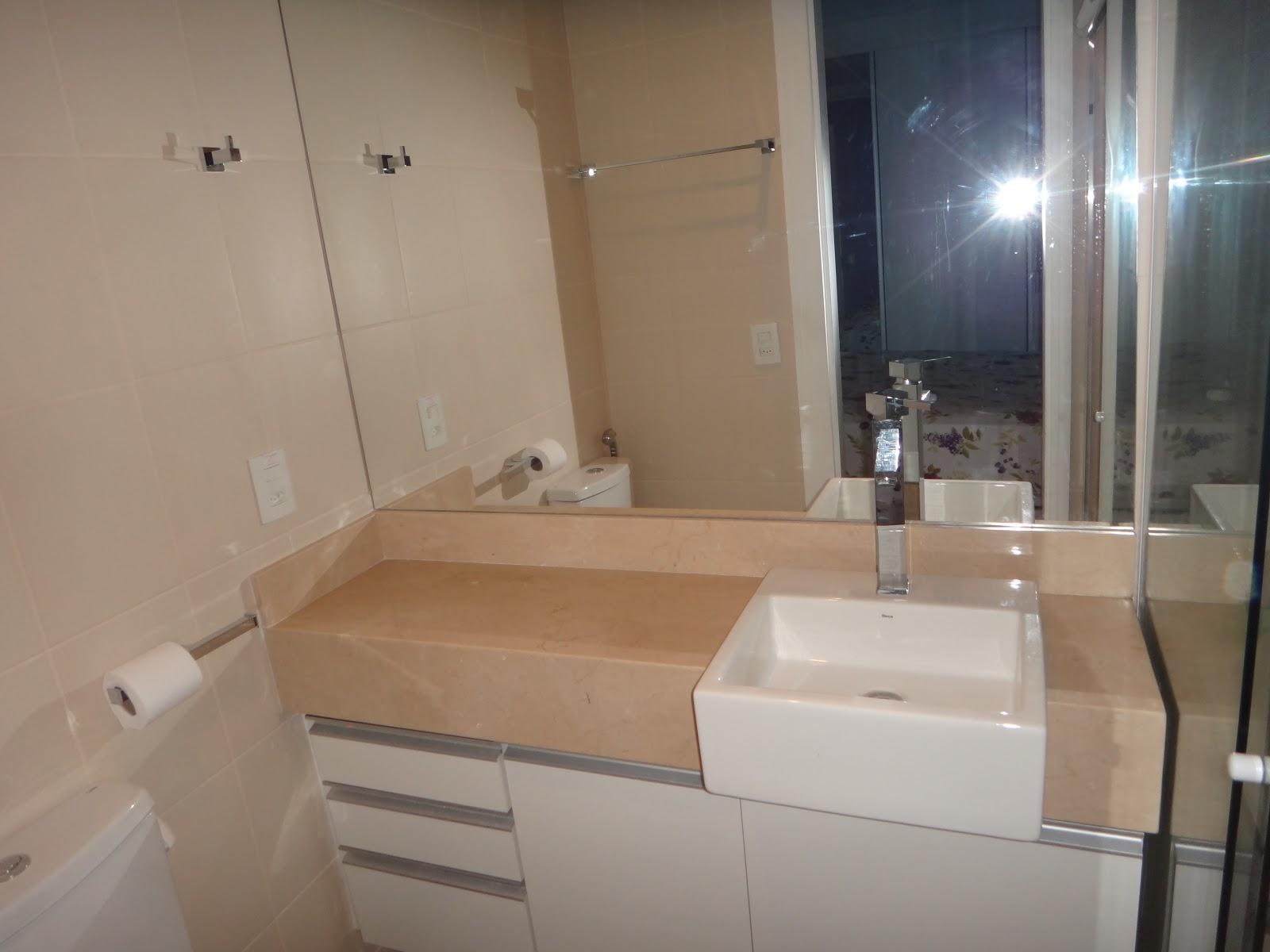 Condomínio Kawai  Freguesia Dezembro 2012 -> Banheiro Planejado Pia