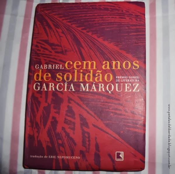 Capa Cem anos de solidão - Gabriel García Márquez, resenha, livro