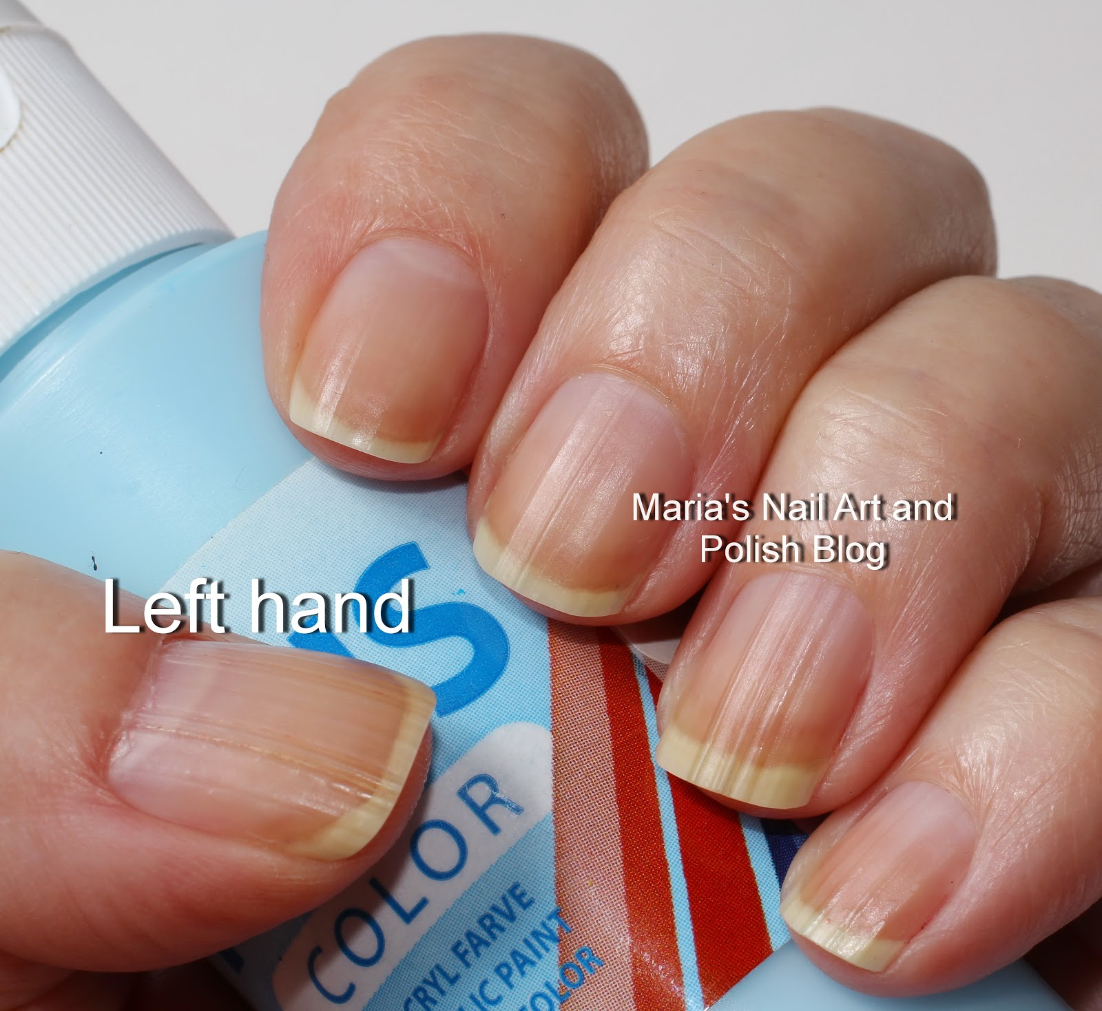 Marias Nail Art and Polish Blog: Nail ridges and ridge fillers I tested