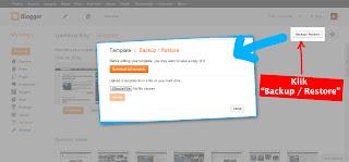 Screenshot 2 - Cara Memfilter Komentar Kotor di Blogger