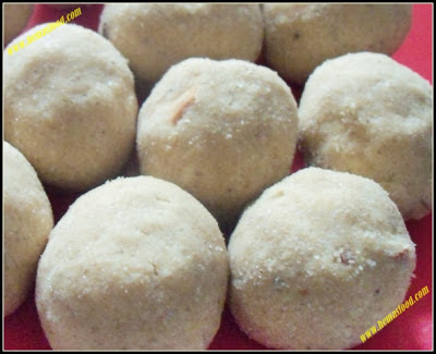 Wheat Flour Coconut Laddu
