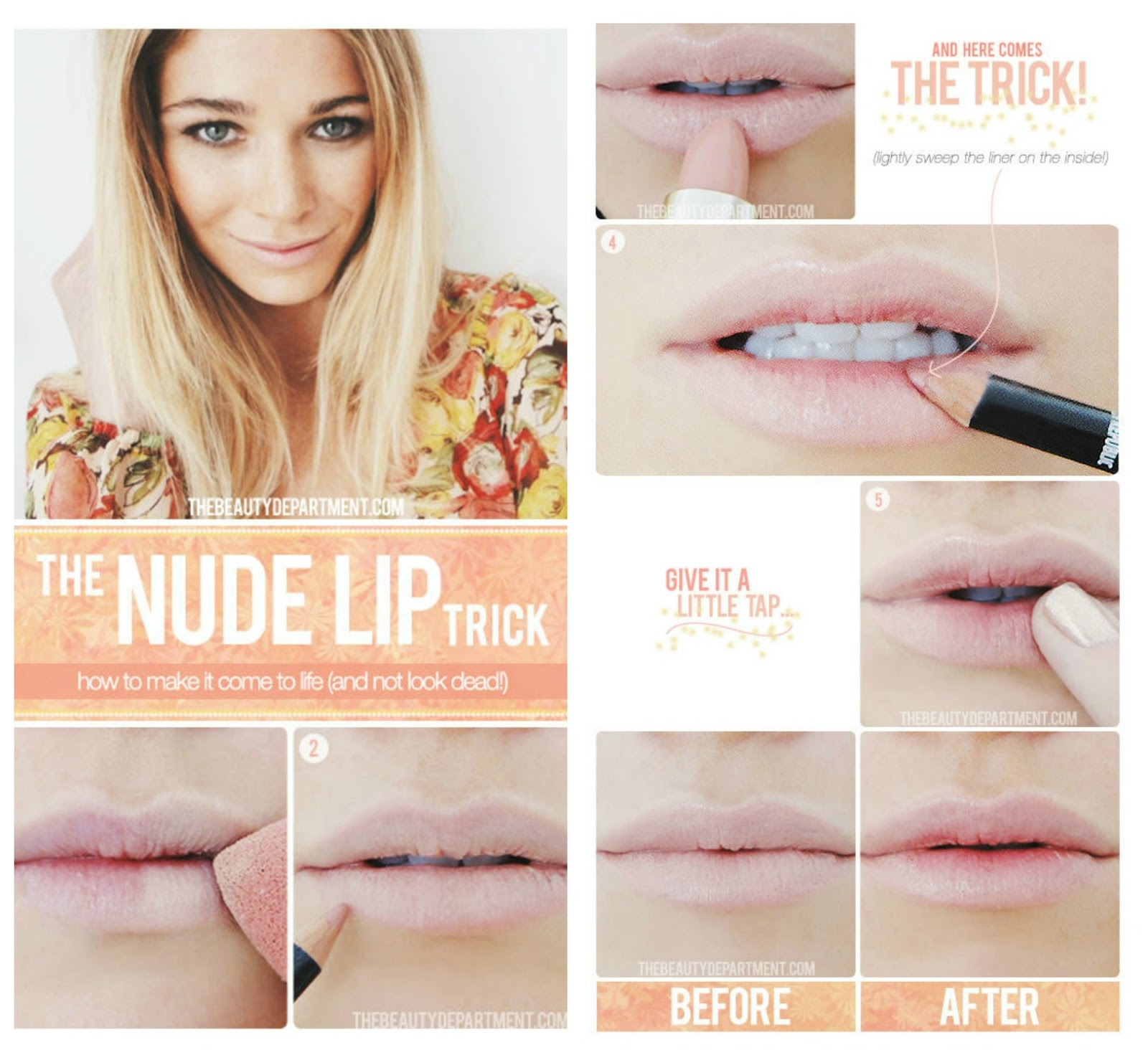 Tutoriales maquillaje de labios