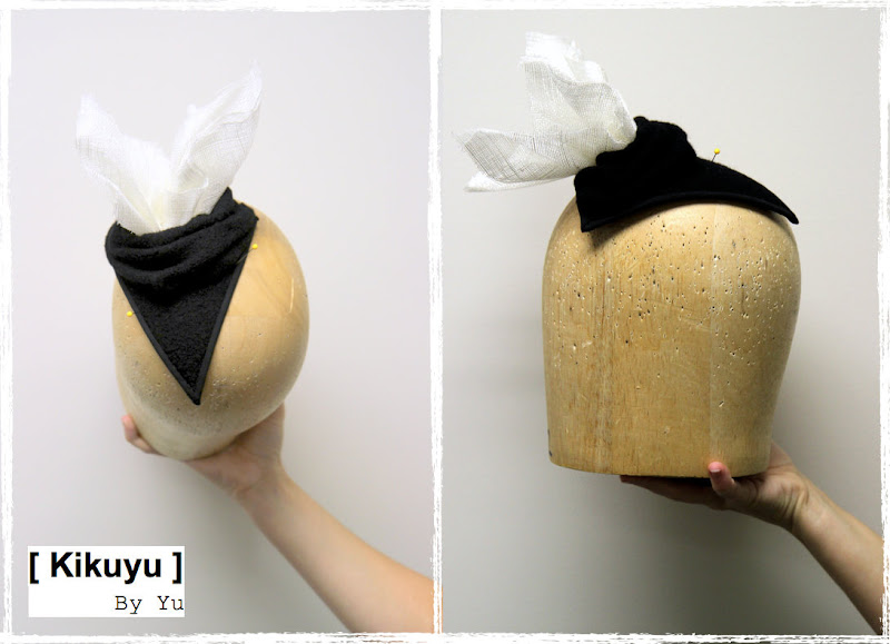 millinery cocktail hat