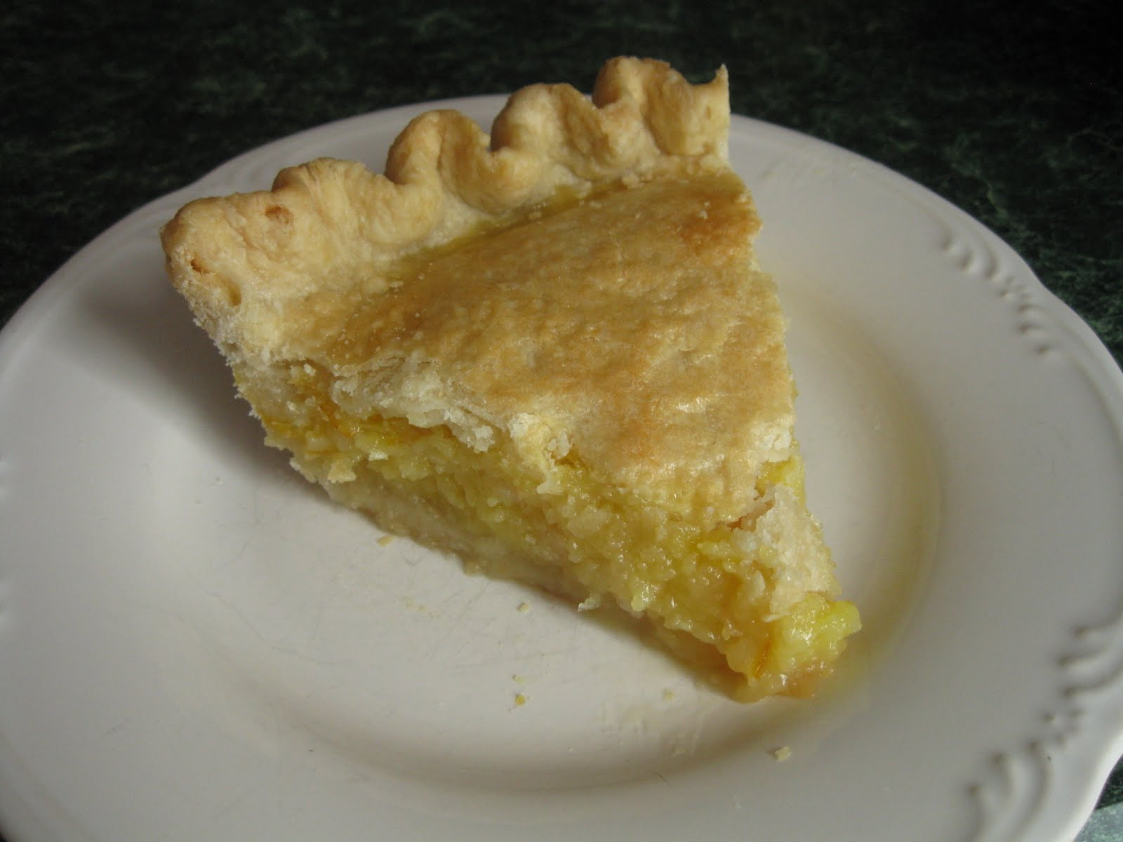 shaker lemon pie is unusual as lemon pies go lemon meringue pie lemon ...