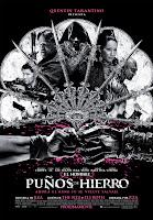 Cartel de la película 'El hombre de los puños de hierro', de RZA, con Russel Crowe, Jamie Chung y Lucy Liu. Making Of. Cine