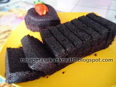 Cara Membuat Kue Bolu Ketan Hitam Kukus