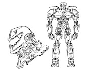 #4 Pacific Rim Coloring Page