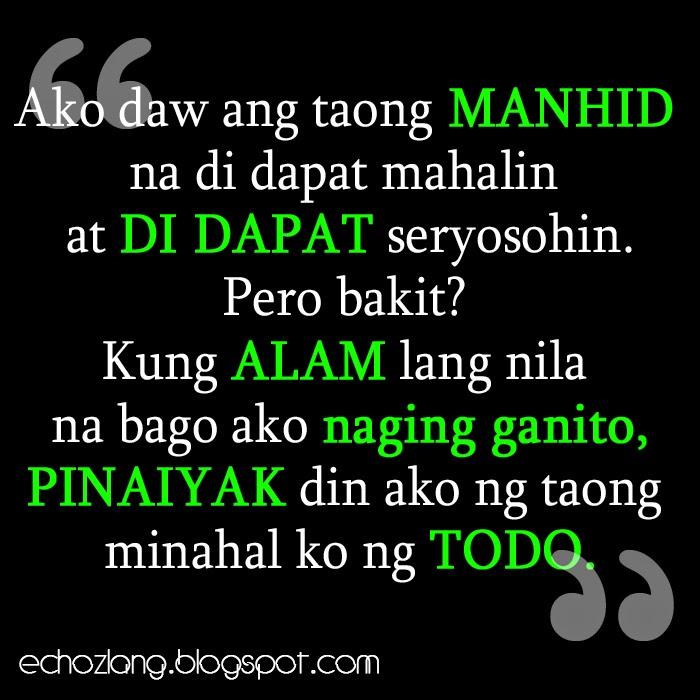 Bago ako naging ganito, pinaiyak din ako ng taong minahal ko ng todo