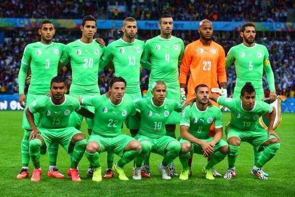 كيف لعب المنتخب الوطني الجزائري أمام منتخب ألمانيا في مباراة الدور الثمن النهائي في كأس العالم بالبرازيل