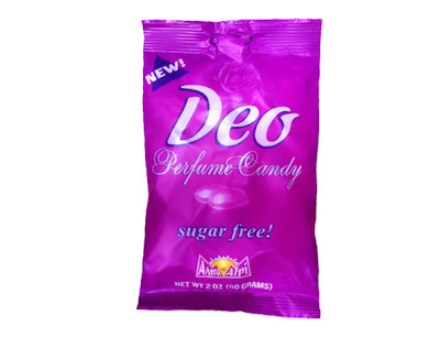 Don't eat your deodorant unless it's deo.deodorant you can eat and will make you smell good
