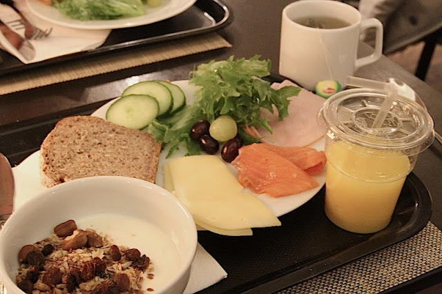breakfast at Elite Hotel Plaza, Stockholm