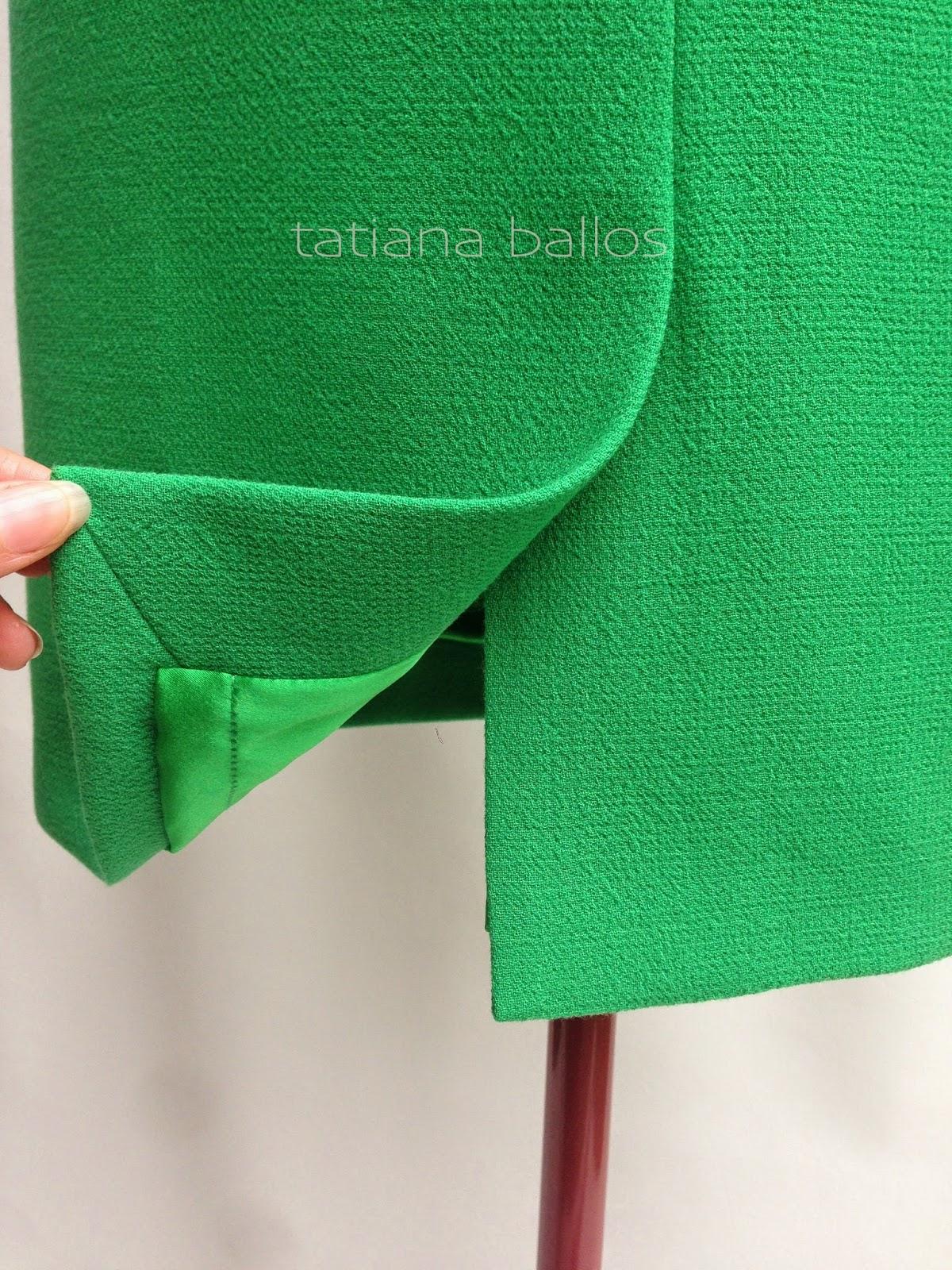 Технология пошива юбки со шлицей и подкладкой