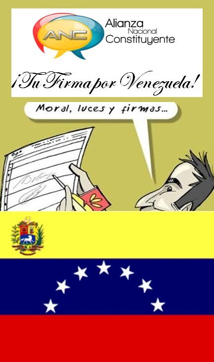 ¡Tu Firma Por Venezuela!