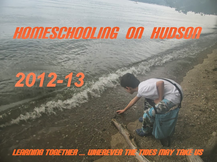 Homeschooling on Hudon 2012-13