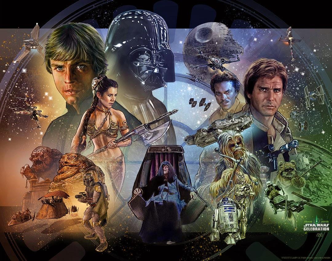 The Geeky Nerfherder: Cool Art: 'Star Wars Celebration ...