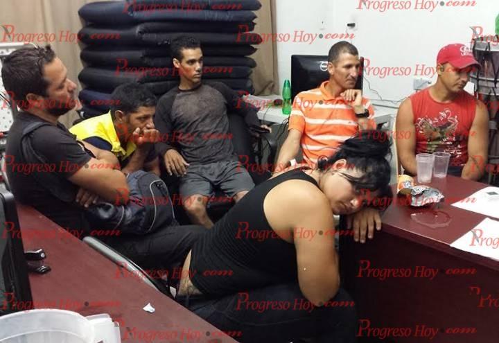 Cubanos rescatados