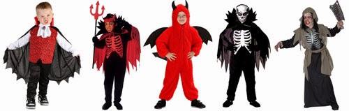 Drenge kostumer til halloween