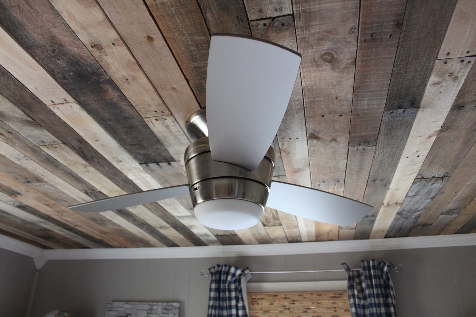 Maple Leaves u0026 Sycamore Trees: Our Refined Pallet (Ceiling)