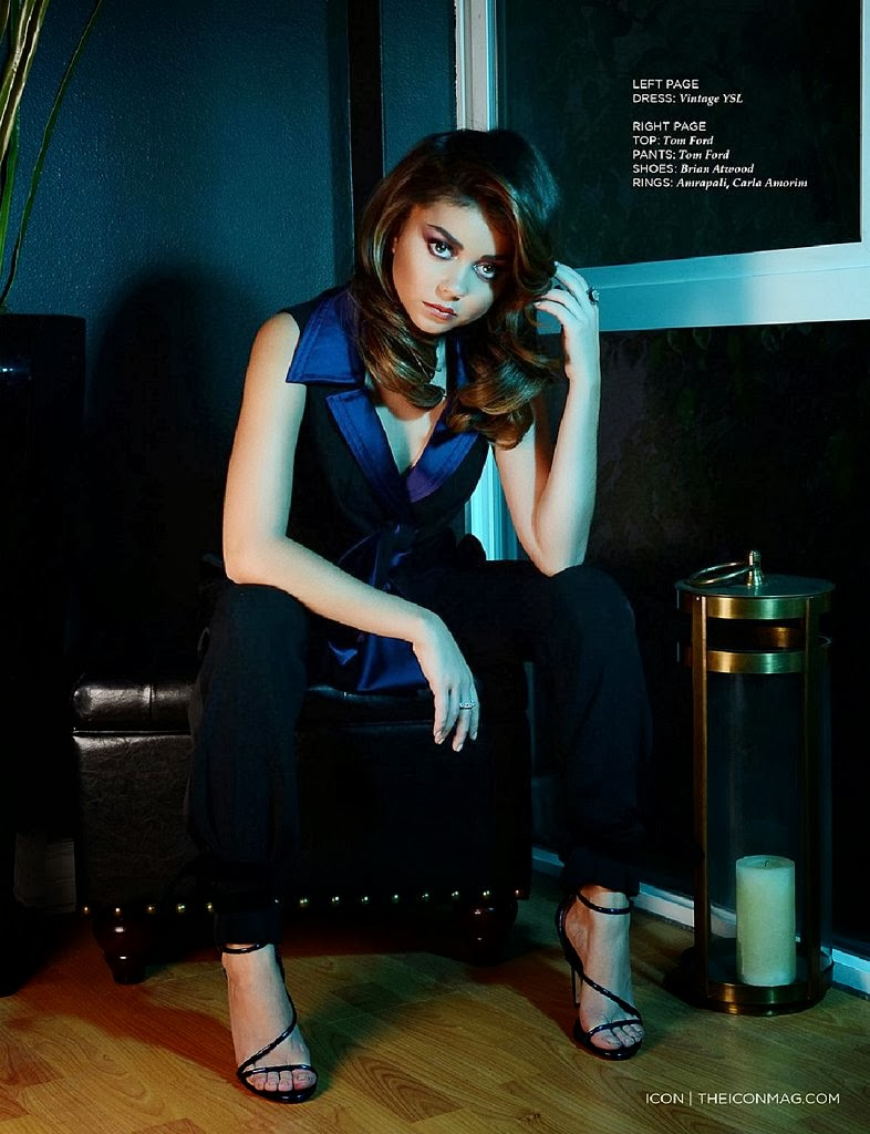 Magazine Photoshoot : Sarah Hyland Photoshot For Icon Magazine Spain January 2014 Issue