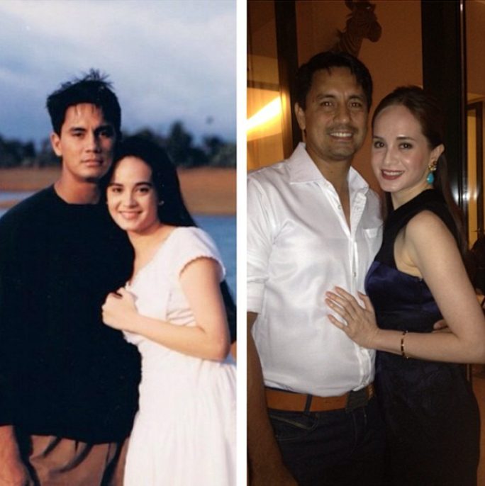 Fashion PULIS Before And After Richard Gomez And Lucy Torres