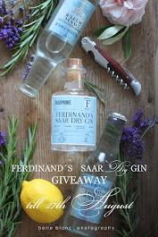 Ferdinand´s Saar Dry Gin Giveaway