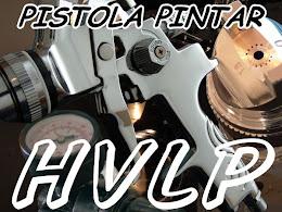 Pistola Pintar HVLP Profesional V2A Inoxidable