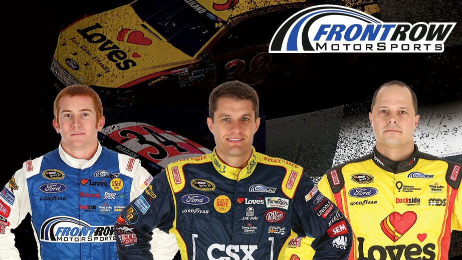 Front Row Motorsports = Cole Whitt, David Ragan and David Gilliland