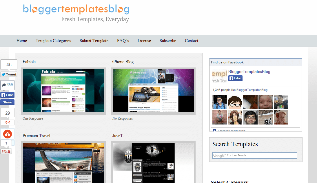 blogger templates blog