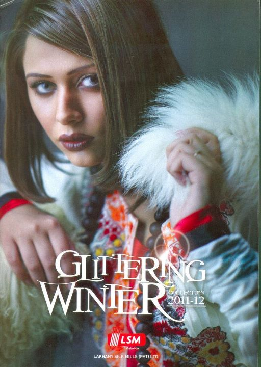 Lakhany Glittering Winter/Eid Collection 2011   Lakhani Winter-Eid Colelction 2011-2012