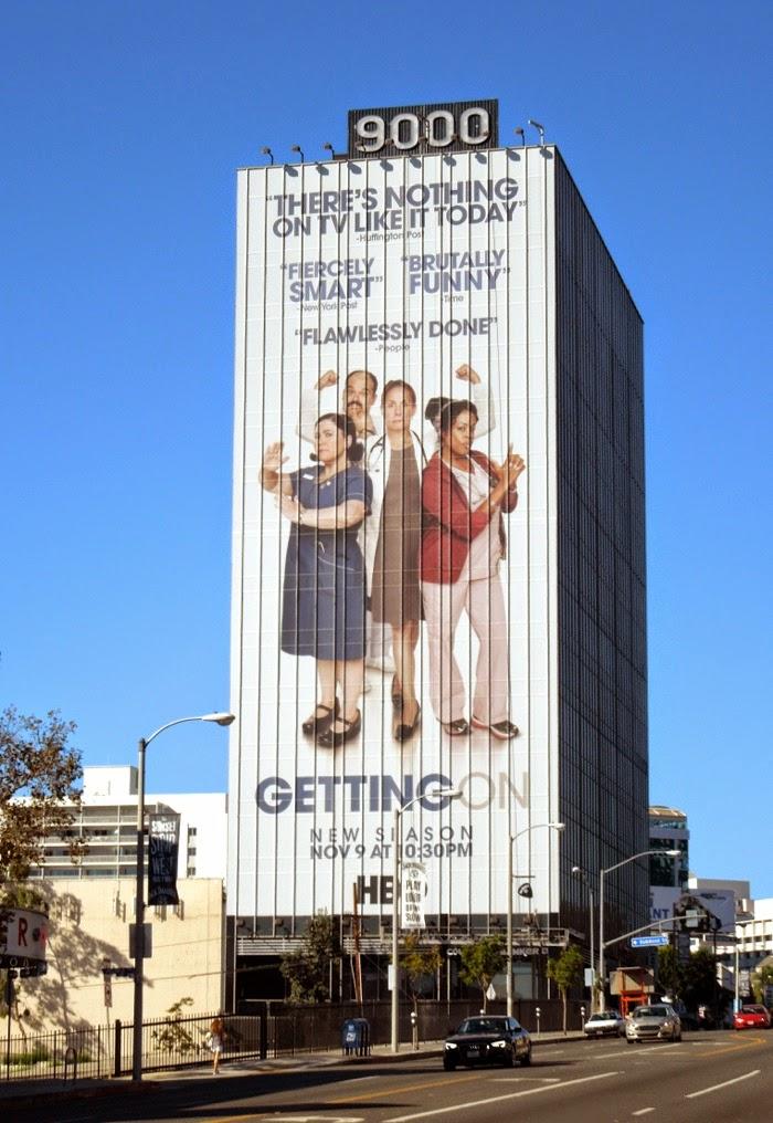 Giant Getting On season 2 billboard