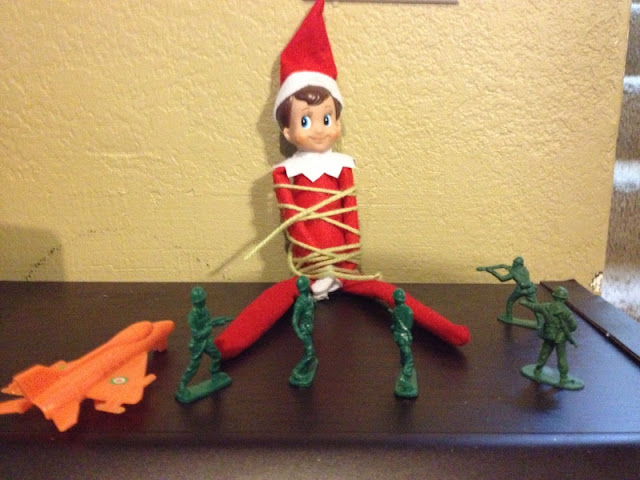 Jett lila and ruby the elf on the shelf for Elf on the shelf chocolate kiss