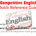 Competitive English Grammar Quick Reference Guide - Pdf Download
