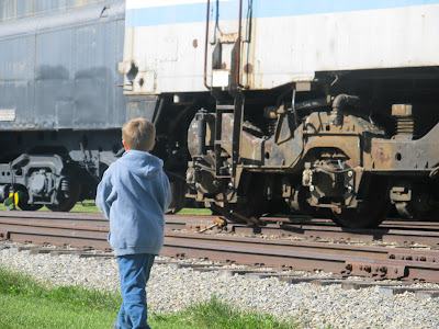 PA Railroad Museum Train Yard
