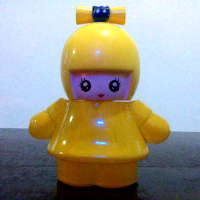 botol cantik 25 ml bentuk boneka