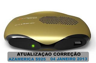 PORTAL Atualizaçao azamerica s925 IKS sks ON 09/01