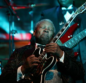 MÚSICA: O rei do blues B.B. King faz 86 anos