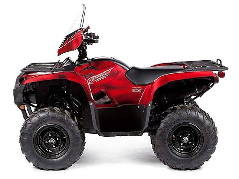 2013 Yamaha Grizzly 550 FI Auto 4x4 EPS LE ATV pictures. 480x360 pixels