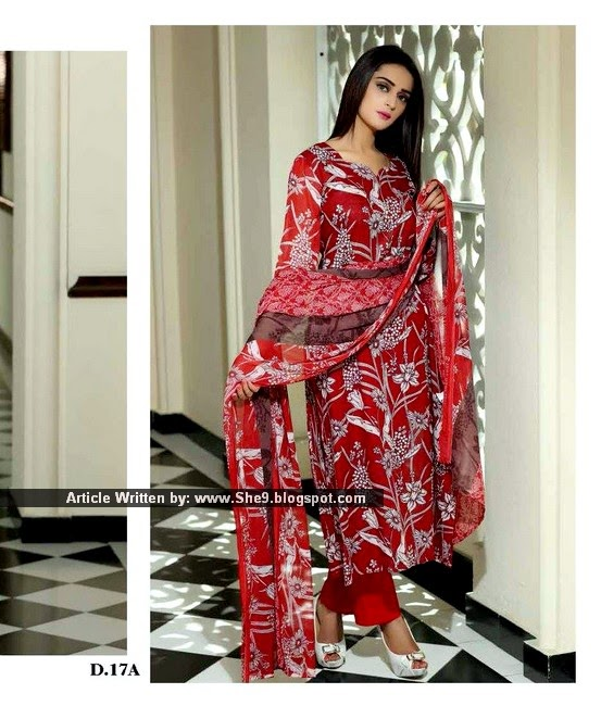 Sitara Jhilmil Lawn Collection 2015