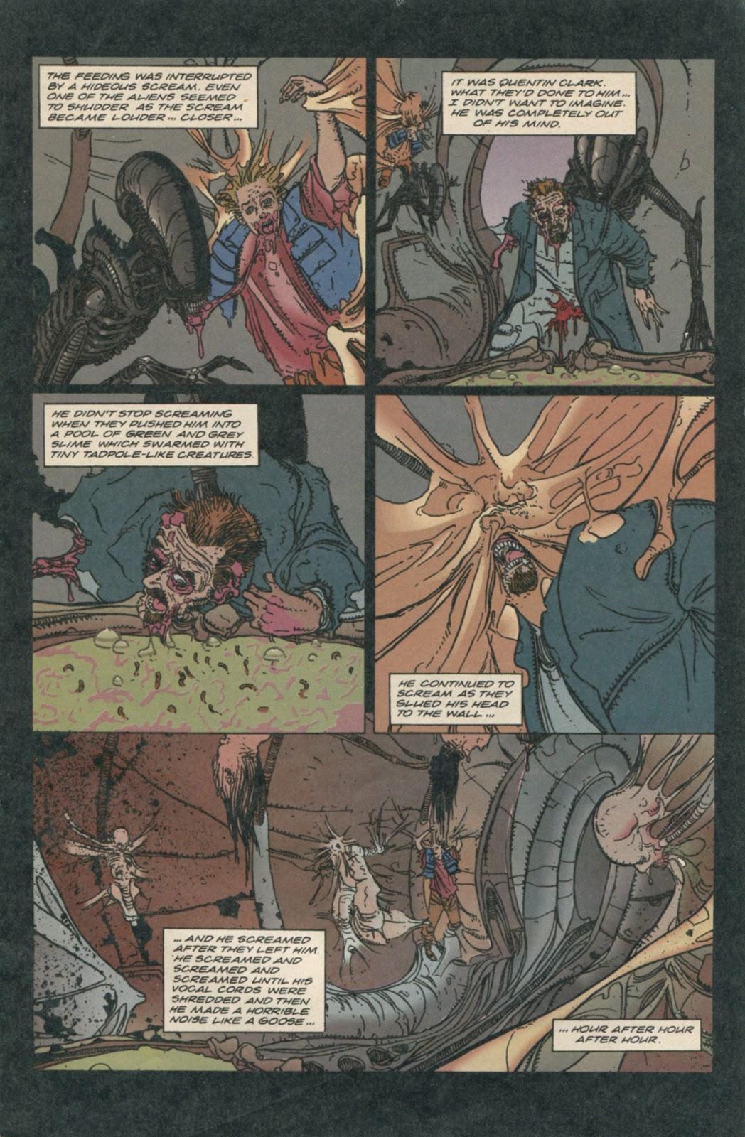 Impreg Comics Amazing emergency surgery (aliens- defiance #7) : comicbooks
