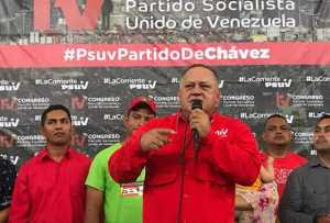 Diosdado Cabello: Los chavistas no somos mala gente ni perseguimos a nadie
