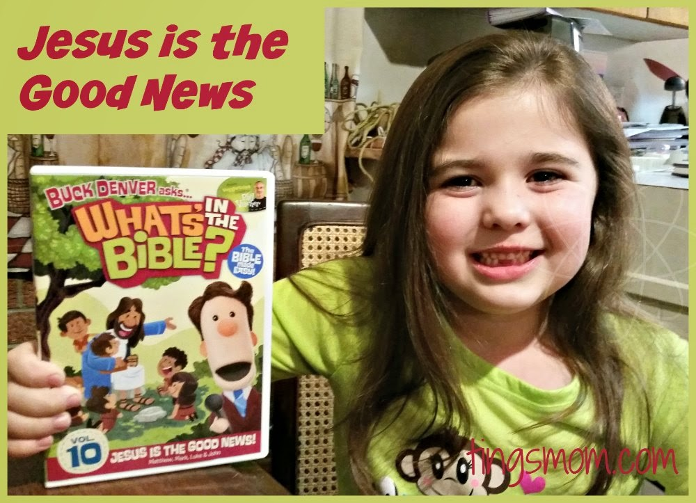 Jesus is the Good News | #JesusGoodNews #giveaway #WhatsInTheBible