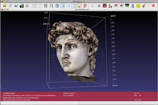 Meshlab es un software gratuito para arreglar texturas