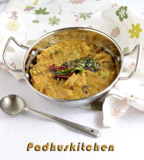 Brinjal Rasavangi-Kathirikai (eggplant) Rasavangi Recipe