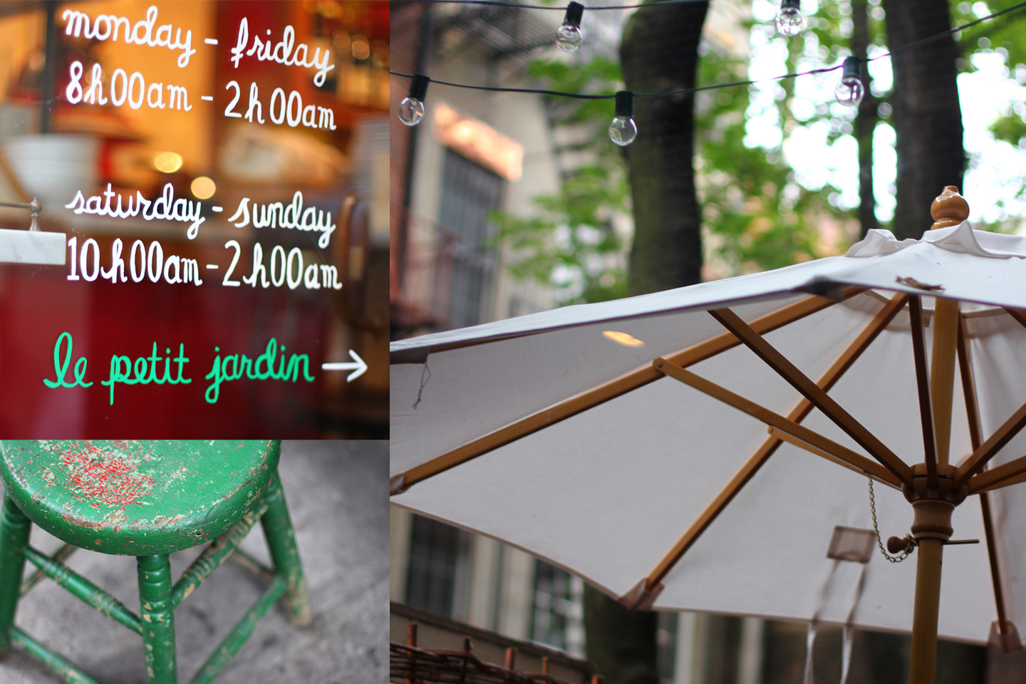 The Little House In The City September 2012 # Table De Jardin Simply Market