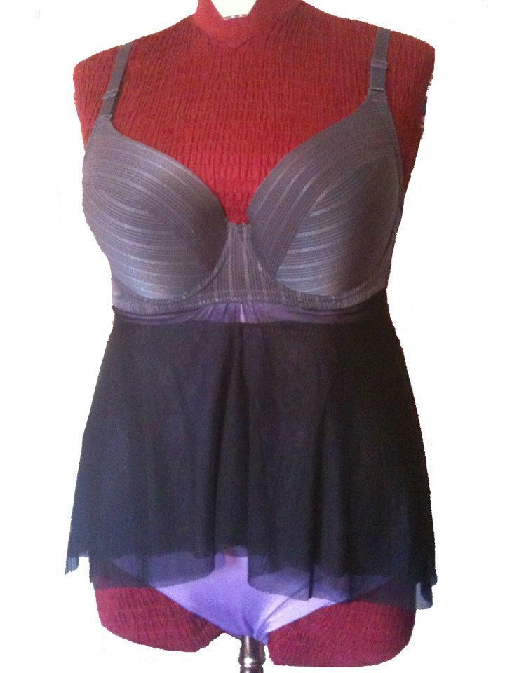Guapita tondita curvy fashion blog and lifestyle la playa dreaming - Costumi da bagno oversize ...
