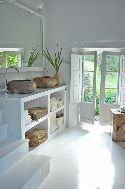 Imagenes De Muebles De Baño De Obra:Los muebles de baño de obra son geniales para espacios dificiles y