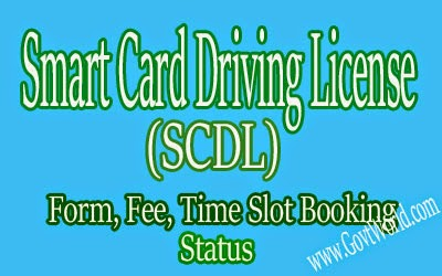 Smart Card Driving License India